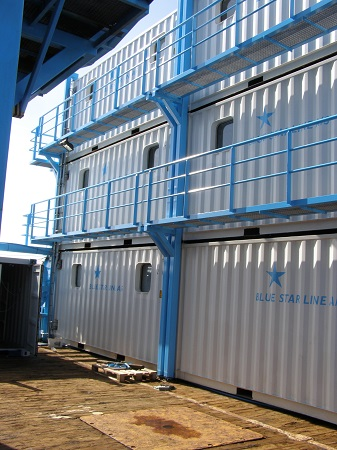 Rebuilding of containers